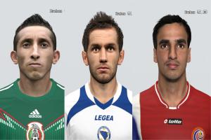 Download PES 2014 World Cup Facepack Vol.4 by rednik