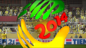 PES 2013 Replay Logo WC 2014 Brasil by pesmodders