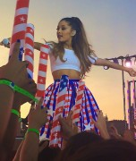 Ariana Grande - taping for Macy's 4th of July Fireworks Spectacular - 06/30/14