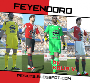 Download Feyenoord 14-15 Kits by Kolia V.