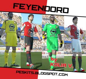 9ac0a87cf Feyenoord 2014-15 Kits by Kolia V. - PES Patch