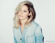 Ashley Tisdale - Byrdie Beauty Photoshoot