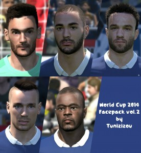 iDownload Facepack World Cup 2014 vol.2 By Tunizizou