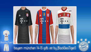 Download Bayern München 14-15 GDB Set by BlackSeaTigerS