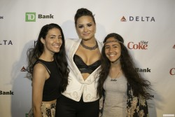 Demi Lovato Meet and Greet at NYC Pride in New York City on June 27, 2014