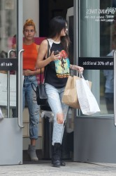 Kendall Jenner and Hailey Baldwin Shopping in The Hamptons on July 3, 2014