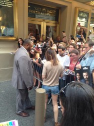 Leighton Meester Signing Autographs in New York City - June 25, 2014