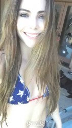 McKayla Maroney Bikini Video - July 4, 2014