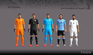 Download Uruguay WC 2014 Kits by Tavin