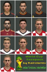 Download World Cup2014 Facepack by Kairzhanov