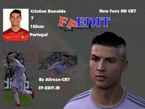 FIFA 14 New Face Ronaldo HD By Alireza-CR7