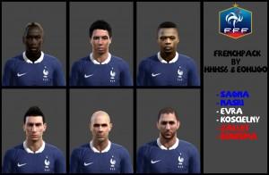 Download PES 2013 France Facepack by hhh56 & eohugo