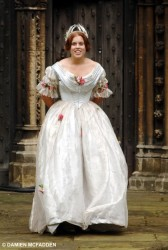 Princess Beatrice on the set of The Young Victoria 9/26/07