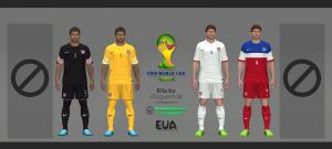 Download PES 2014 USA WC 2014 Kits by Wuguernalt