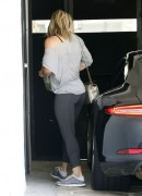 Hilary Duff - Dat Ass in Leggings at a Gym 7/7/14