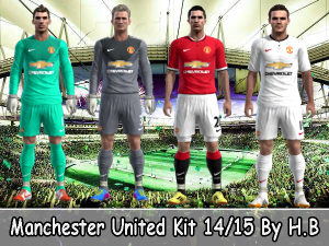 Download Manchester United Kit 14/15 Pes 2013 By H.B
