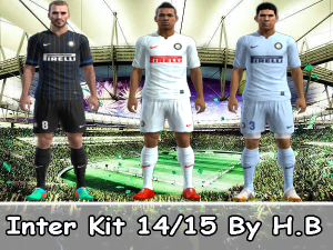 Download Inter Milan 14-15 Player Kits For Pes 2013 By H.B