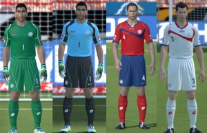 Download PES 2014 Costa Rica WC 2014 Kits by cofi_delija