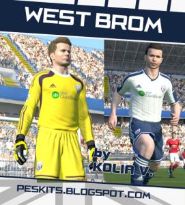 Download PES 2014 West Bromwich Albion Kits 14-15 by Kolia V