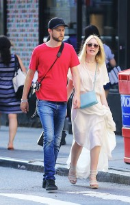 Dakota Fanning - out and about in NYC july 17 - 2014 HQ pics