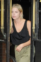 Ashley Benson - Out in NYC 7/15/14