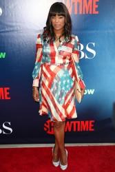 Aisha Tyler CBS, The CW, Showtime Summer TCA Party 07-17-2014