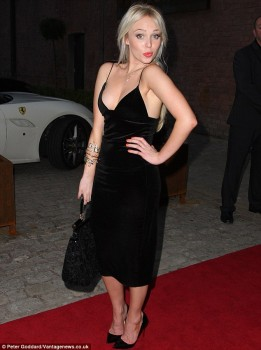 Jorgie Porter - Titanic Hotel at the Stanley Dock in Liverpool x 3 lq