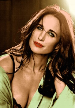 Andie MacDowell - 1 Picture - Colored by me