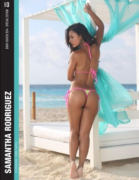 Mister Chicas: Lucy Pinder, desnuda con las camisetas de