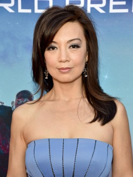 Ming-Na Wen, Guardians of the Galaxy, L.A premiere 21/07/2014