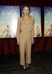 Maggie Gyllenhall 'Very Good Girls' NY Screening 07-21-2014