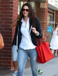 Emmy Rossum out in Beverly Hills 07-22-2014 (mixed Q, *** Shot)