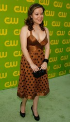 Tina Majorino nice cleavage at The CW Launch Party 09/18/06