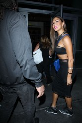 Nicole Scherzinger At the Lady Gaga concert in L.A. 07-22-2014