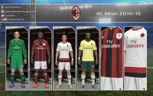 Download PES 2014 AC Milan 2014/15 GDB by Nemanja