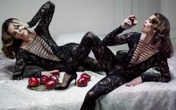 Cindy Crawford, Hilary Duff, Jennifer Lawrence, Megan Fox (Wallpaper) 4x