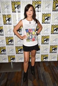 """Ming-Na Wen, Comic-Con 2014, """"Agents of  S.H.I.E.L.D"""", San Diego, 25/07/2014"""