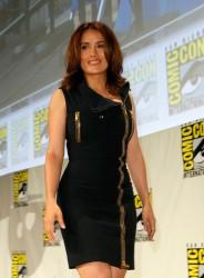 Salma Hayek 'Everly' Comic-Con Panel 07-25-2014 *ADDS*