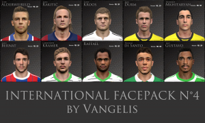 Download PES International Facepack n°4 by Vangelis