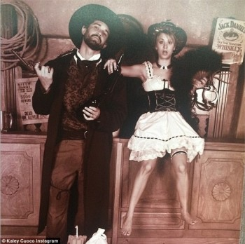 Kaley Cuoco and Ryan Sweeting - Wild West Picture - x 1 lq