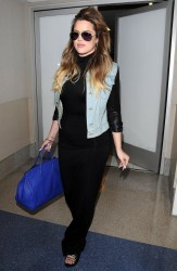 Khloe Kardashian - At LAX Airport 7/28/14