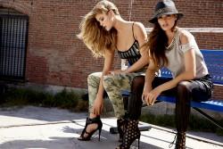 Nina Agdal - BEBE : Summer in the City - Summer 2014