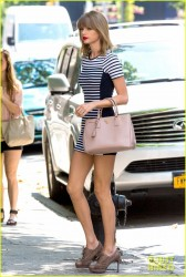 Taylor Swift - Out & About in NYC 7/31/14
