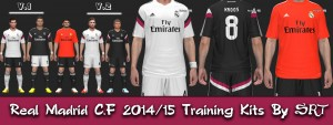 Download Real Madrid C.F 2014/15 Training Kits By SRT