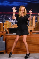 Julia Roberts - 'The Tonight Show starring Jimmy Fallon' in NYC 7/31/14