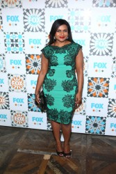 "Mindy Kaling nice legs speaking onstage at the ""Behind The Laughs"" panel during the Summer Television Critics Association 7/19/14"