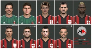 Download PES 2014 A.C. Milan facepack + BONUS-Rami by MarioMilan