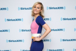 Taylor Schilling at SiriusXM Studios in NYC 07-31-2014