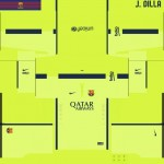 FC Barcelona Third Kits by J Dilla