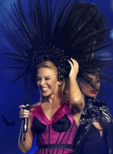Kylie Minogue, Closing Ceremony, Commonwealth Games 2014